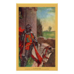 Vintage - King Arthur - Sir Lancelot and Elaine