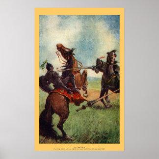 Vintage - King Arthur - Sir Lionel Falls Posters