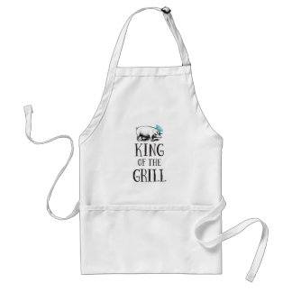 Vintage King of the Grill Apron