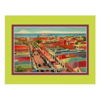 Vintage King Street Kingston Jamaica Postcard