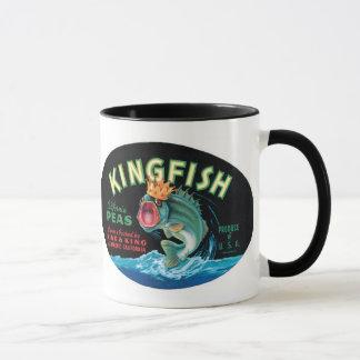 Vintage Kingfish Peas Label - Mug