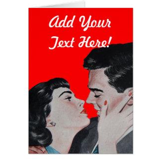 Vintage Kiss Card