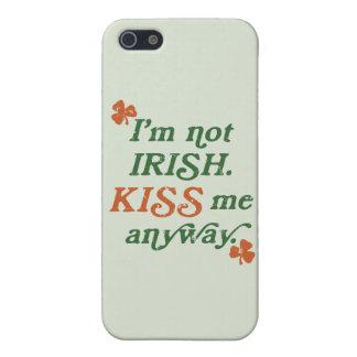 Vintage Kiss Me Anyway iPhone 5 Case