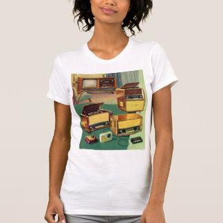 Vintage Kitsch 50s High Fidelity Stereo TV Sets T-Shirt