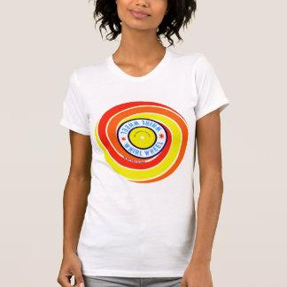 Vintage Kitsch Firework Label Whirl Wheel Shirts