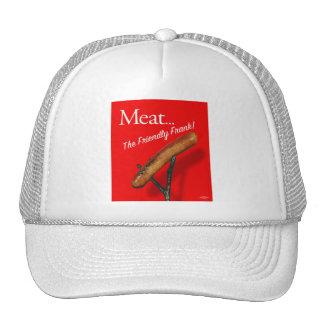 Vintage Kitsch Hot Dog 'Meat The Frankfurter' Cap