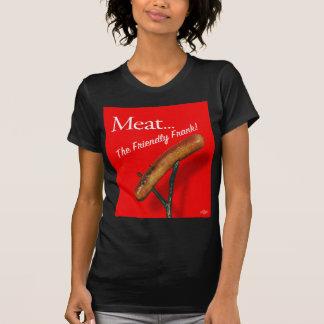 Vintage Kitsch Hot Dog 'Meat The Frankfurter' Shirt