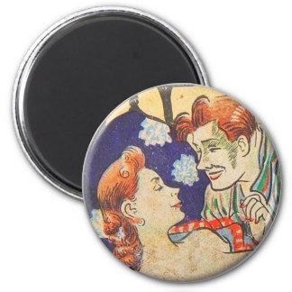 Vintage Kitsch Japan War Propaganda WW2 Lovers 2 Inch Round Magnet
