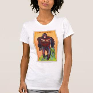 Vintage Kitsch Postcard Stuffed Gorillia Ape Odd T-Shirt