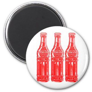 Vintage Kitsch Soda Pop Bottle Wine Dip Magnets