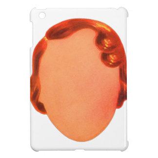 Vintage Kitsch Toy Blank Womens Face Ephemera Case For The iPad Mini