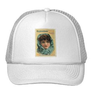 Vintage Kitsch Victorian Glenwood Stove Trade Card Trucker Hat
