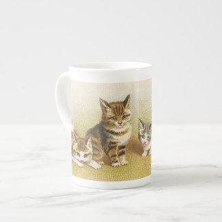 Vintage Kitten Tea Cup