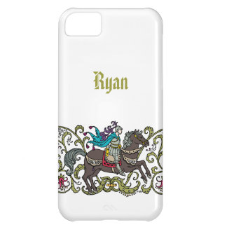 Vintage Knight Personalized iPhone 5C Case