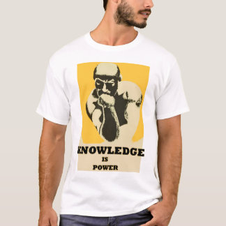 Vintage Knowledge is Power T-Shirt