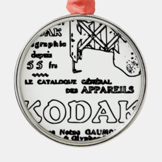 Vintage Kodak Advert Christmas Ornament