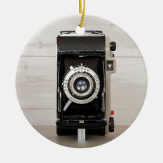 Vintage Kodak camera Christmas Ornament