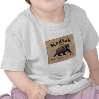 Vintage Kodiak Salmon Label Shirts