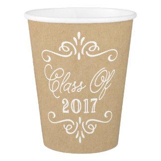 Vintage Kraft Paper | Graduation Paper Cup
