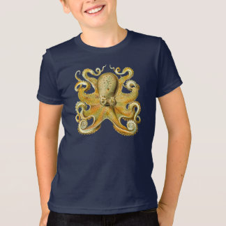 Vintage Kraken, Octopus Gamochonia, Ernst Haeckel T-Shirt