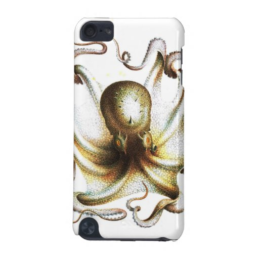Vintage kraken octopus nautical steampunk antique iPod touch (5th generation) cover