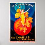 Vintage La Chabilsienne Poster