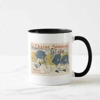 Vintage La Chaine Simpson Mug