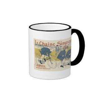 Vintage La Chaine Simpson Mugs