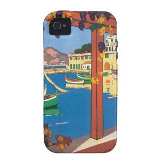 Vintage La Cote D azur iPhone 4/4S Cover