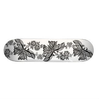 Vintage Lace Butterfly Girly Sissy Skateboard