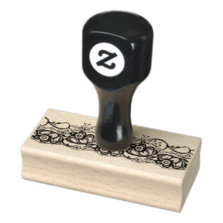 Vintage Lace Rubber Stamp