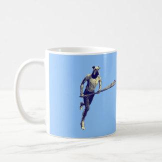 Vintage Lacrosse Airedale Basic White Mug