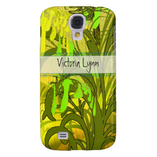 Vintage Ladies Musical Notes iPhone Cover Galaxy S4 Case