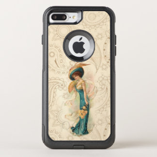 Vintage Lady 01 OtterBox Commuter iPhone 8 Plus/7 Plus Case