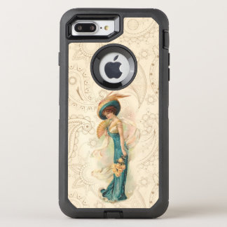 Vintage Lady 01 OtterBox Defender iPhone 8 Plus/7 Plus Case