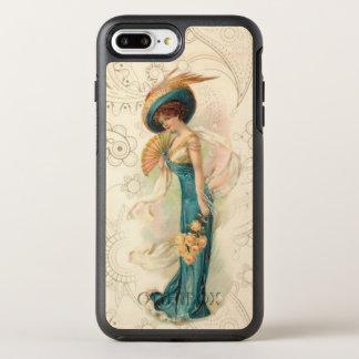 Vintage Lady 01 OtterBox Symmetry iPhone 8 Plus/7 Plus Case