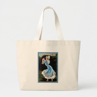 Vintage Lady Golfing Canvas Bags
