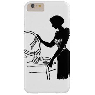 Vintage Lady & Vanity Classy iPhone / iPad case