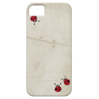 Vintage ladybugs iPhone5 cover