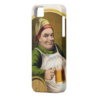 Vintage Lager Beer Advertisement iPhone 5 Cover