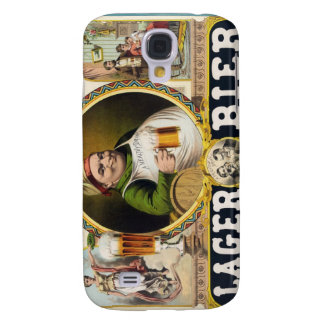 Vintage Lager Beer Advertisement Galaxy S4 Case