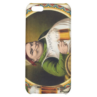 Vintage Lager Beer Advertisement Case For iPhone 5C