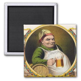 Vintage Lager Beer Advertisement Fridge Magnets