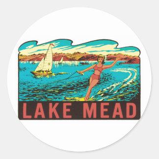 Vintage Lake Mead  Nevada NV State Label
