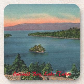 Vintage Lake Tahoe Emerald Bay Coaster