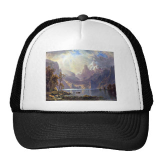 Vintage Landscape, Lake Tahoe by Albert Bierstadt Cap