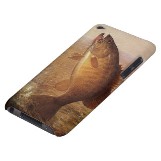 Vintage Largemouth Brown Bass Fish, Sports Fishing Case-Mate iPod Touch Case
