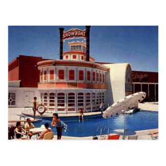 Vintage Las Vegas Showboat Postcard