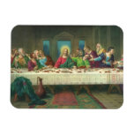 Vintage Last Supper with Jesus Christ and Apostles Magnet