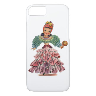 Vintage Latin-American Doll iPhone 7 Case